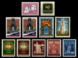 PORTUGAL, Discount Sale, Fine Selection Of Commemoratives, With Many High Values, (*)/* MNG/MLH, F/VF, Cat. € 33,00 - 1910-... République