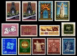 PORTUGAL, Discount Sale, Fine Selection Of Commemoratives, With Many High Values, (*)/* MNG/MLH, F/VF, Cat. € 35,00 - 1910-... République