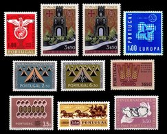 PORTUGAL, Discount Sale, Fine Selection Of Commemoratives, With Many High Values, (*)/* MNG/MLH, F/VF, Cat. € 38,50 - 1910-... République
