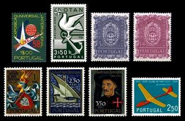 PORTUGAL, Discount Sale, Fine Selection Of Commemoratives, With Many High Values, */** MLH/MNH, F/VF, Cat. € 36,00 - 1910-... République