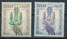 °°° SUDAN - Y&T N°158/59 - 1963 MNH °°° - Sudan (1954-...)