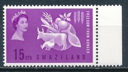 °°° SWAZILAND - Y&T N°107 - 1963 MNH °°° - Swaziland (1968-...)