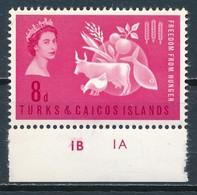 °°° TURKS & CAICOS - Y&T N°179 - 1963 MNH °°° - Turks E Caicos