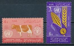 °°° YEMEN YAR - Y&T N°44/45 - 1963 MNH °°° - Yemen
