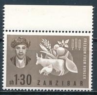 °°° ZANZIBAR - Y&T N°257 - 1963 MNH °°° - Zanzibar (1963-1968)
