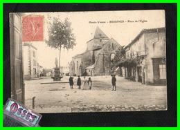 TROIS C.P.A.Bessines Usine Vieux Pont- Mairie - Place De L'Eglise (rectos Versos) - Bessines Sur Gartempe