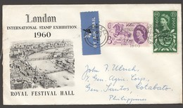 1960  Cover With PO Tercentenary Issue SG 619-20 Scott 375-6  Mi Nr 339-40 - 1952-.... (Elizabeth II)