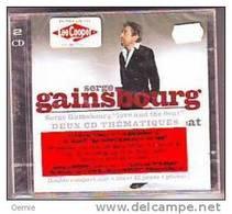 SERGE  GAINSBOURG   °LOT DE 3 CD ALBUM  LES INROCKUPTIBLES PRESENTENT GAINSBOURG   INTERPRETE  PAR+ DOUBLE CD + SES PLUS - Music & Instruments