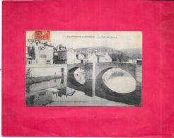 VILLEFRANCHE De ROUERGUE  - 12 - Le Pont Des Consuls - BES3/SAL1 - - Villefranche De Rouergue