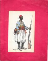 ILLUSTRATEUR EDY - MILITARIA - Uniforme Militaire Guerre De 1914 - BES3/SAL1 - - Illustrateurs & Photographes