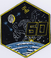 ISS Expedition 60 International Space Station Embroidered Patch - Patches
