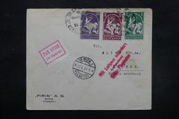 BULGARIE - Enveloppe De Sofia Pour Anvers Via Wien En 1934 Par Avion  , Affranchissement Plaisant - L 27587 - Cartas