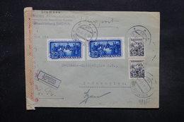 SLOVAQUIE - Enveloppe De Bratislava Pour Grünenplan En 1943 Avec Contrôle Postal , Affranchissement Plaisant - L 27591 - Slovaquie