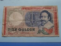 TIEN Gulden AED 094263 / De Nederlandse Bank - Amsterdam 23 Maart 1953 > See Photo For Detail ! - [2] 1815-… : Royaume Des Pays-Bas