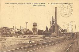 Hauts-Fourneaux, Forges Et Aciéries De Denain Et Anzin (Nord): N° 2: Vue D'ensemble, Centrale - Cliché Mésière - Industrie