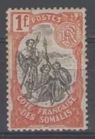COTE DES SOMALIS:  N°64 *         - Cote 28€ - - Côte Française Des Somalis (1894-1967)
