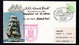 HAMBURG 4 2000 Briefmarken-Werbeschau Des BUW-e.V. 25 JAHRE GORCH FOCK - Deutschland