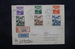 SLOVAQUIE - Enveloppe De Bratislava Pour Liepzig Par Avion En 1940 Avec Contrôle , Affranchissement Plaisant - L 27604 - Slovaquie