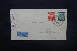 SLOVAQUIE - Enveloppe De Piešťany Pour Prague Par Avion Avec Contrôle Allemand , Affranchissement Plaisant - L 27606 - Cartas