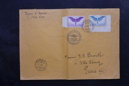 SUISSE - Enveloppe De Zurich Pour Paris Par Avion En 1939, Affranchissement Et Oblitération Plaisants - L 27620 - Postmark Collection