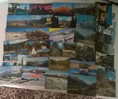30 CARTOLINE MONTAGNA  (8) - Cartoline
