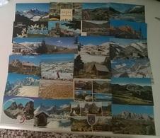 24 CARTOLINE MONTAGNA  (10) - Cartoline