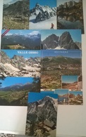 20 CARTOLINE MONTAGNA  (11) - Cartoline