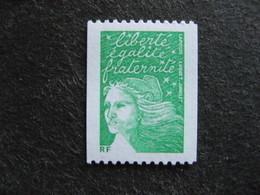TB N° 3535B , Timbre De Roulette, Numéro Noir Au Verso, Neuf XX. - France