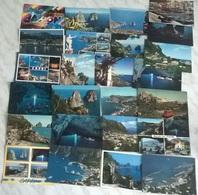 25  CARTOLINE CAPRI (24) - Cartoline