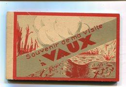 CPA 55 : Souvenir De VAUX Carnet Complet De 15 Cartes  A  SAISIR  !!!!!!! - France