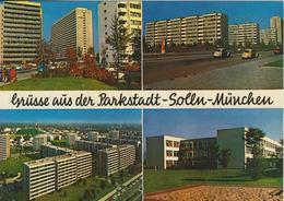 Grüsse Aus Der Parkstadt Solln-München V. 1972  Hochhäuser-Siedlung  (56349) - München