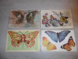 Beau Lot De 20 Cartes Postales De Fantaisie  Papillons Papillon    Mooi Lot Van 20 Postkaarten Van Fantasie  Vlinder - Postkaarten