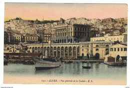 ALGER:  VUE  GENERALE  DE  LA  CASBAH  -  FP - Algeri