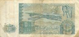 BILLET 10 DINARD ALGERIE - Algérie