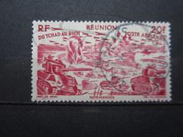 """VEND BEAU TIMBRE DE POSTE AERIENNE DE LA REUNION N° 39 , OBLITERATION """" SAINT-DENIS """" !!! - Réunion (1852-1975)"""