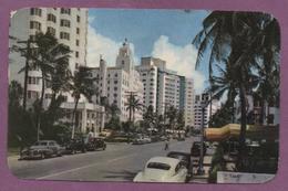 Miami Beach - Luxurious Hotels Along - Collins Avenue - Miami Beach