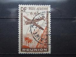 """VEND BEAU TIMBRE DE POSTE AERIENNE DE LA REUNION N° 3 , OBLITERATION """" SAINT-DENIS """" !!! - Réunion (1852-1975)"""
