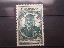 """VEND BEAU TIMBRE DE LA REUNION N° 261 , OBLITERATION """" SAINT-DENIS """" !!! - Reunion Island (1852-1975)"""