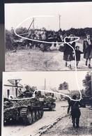 10. Normandie Juin 1944 Panzer Allemands. Repro. - 1939-45