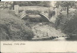 Wrexham,Erddig Bridge - Gales