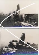 10. Luftwaffe Avion/aviation. 28 Décembre 1944. Ju 88 De La 10./NJG 2 écrasé à Grandrieu. Chasse De Nuit. Repro. - 1939-45
