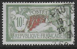 France - Merson N° 207 Oblitéré - Cote : 17 € - 1900-27 Merson