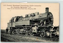 52956103 - 1D1 Zweizyl. Hessdampf-Personenzugs-Tenderlokomotive Deutsche Reichsbahn - Trains