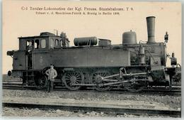 52956243 - C 1 Tenderlokomotive Preuss. Staatsbahn T 9 - Trains