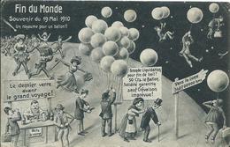 Fin Du Monde,souvenir Du 19 Mai 1910 - Humour
