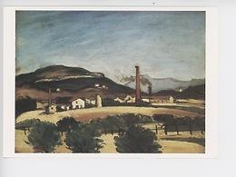Paul Cézanne 1839/1906 : Usines Près Du Mont Du Cengle  1869/70 (cp Vierge) Four à Chaux Estaque - Paintings
