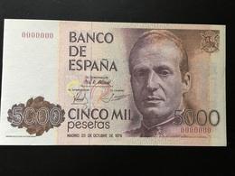 Replica 5000 Pesetas 1979 - [ 4] 1975-… : Juan Carlos I