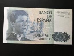 Replica 10000 Pesetas 1985 - [ 4] 1975-… : Juan Carlos I