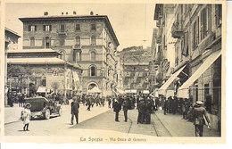ITALIA - LA SPEZIA - Via Duca Di Genova, Ben Animata, Anni 10 - 2019-597 - La Spezia