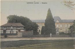 JARGEAU ( Loiret ) : Hospice - Carte Colorisée écrite En 1916 - Jargeau